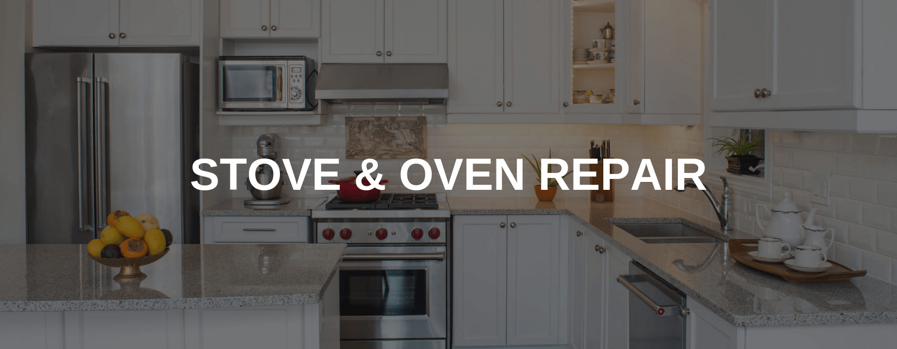 stove repair quincy